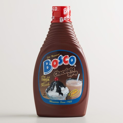 Syrup Bosco vị chocolate