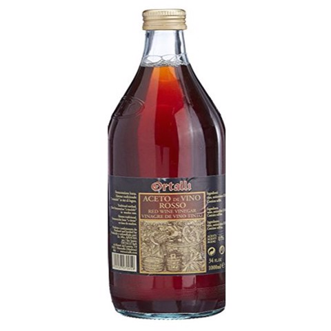 Giấm Ortalli Vinegar Red wine 1 lít