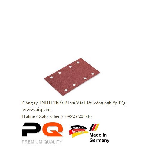 Giấy Nhám PQ Flex Velcro PURFLEX 80x133 PU-P120 VE50. Made In Germany. Code 3.10.500.380903