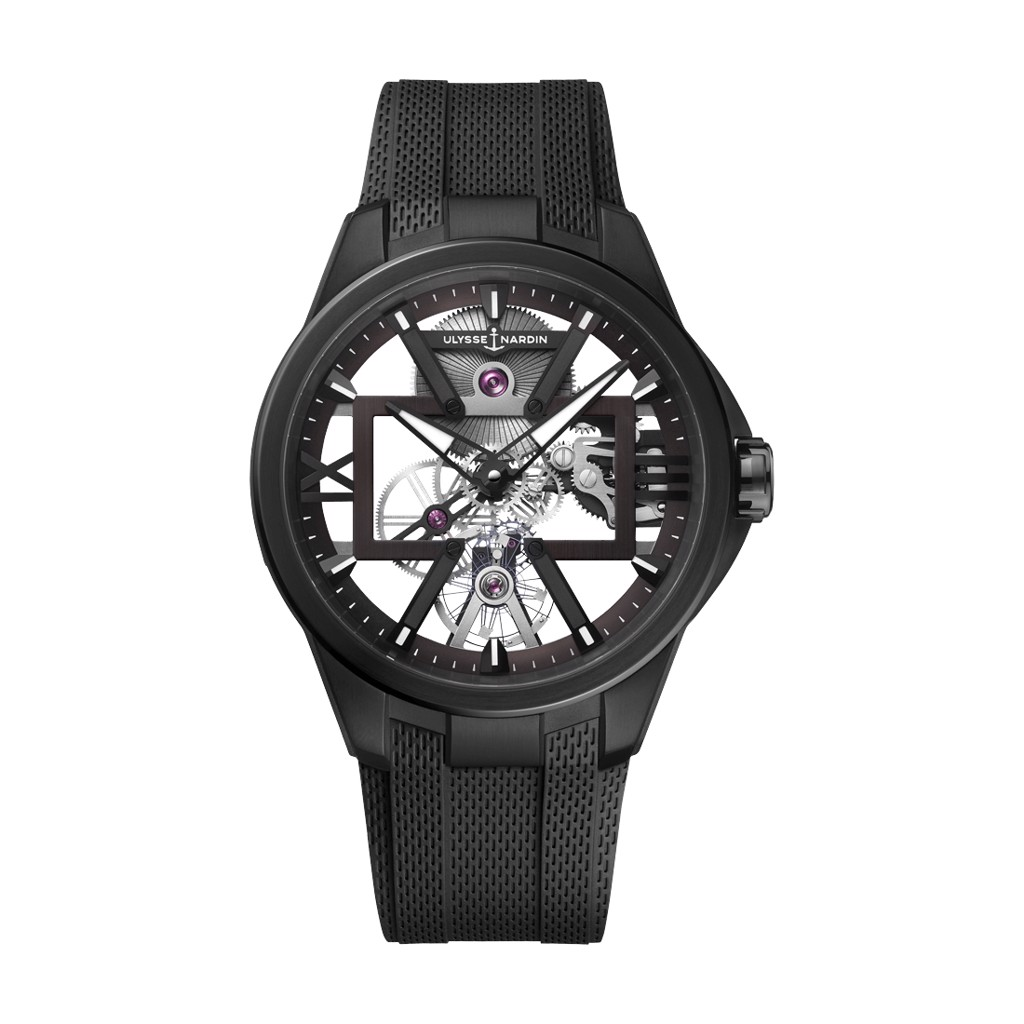 Ulysse Nardin Executive Skeleton X 3713-260-3/BLACK