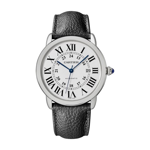 Cartier Ronde Solo De Cartier 42mm Steel Leather