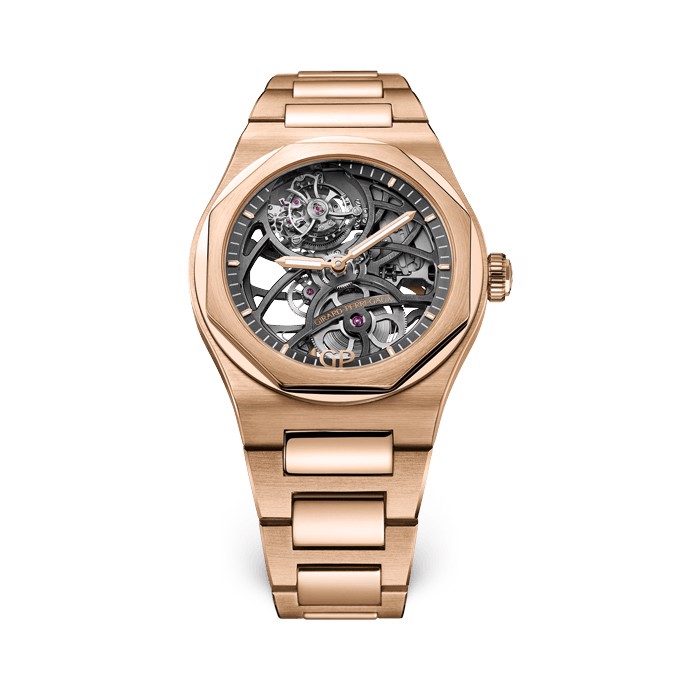 Girard Perregaux Laureato Flying Tourbillon Skeleton 99110-52-000-52A
