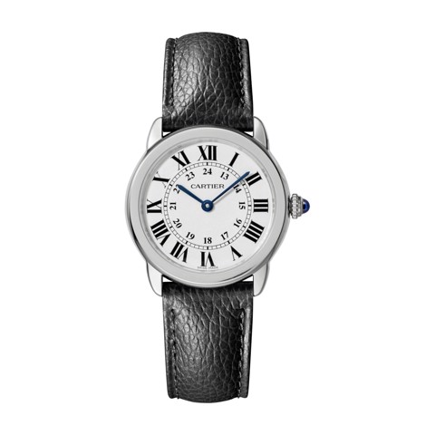 Cartier Ronde Solo De Cartier 29mm Steel Leather