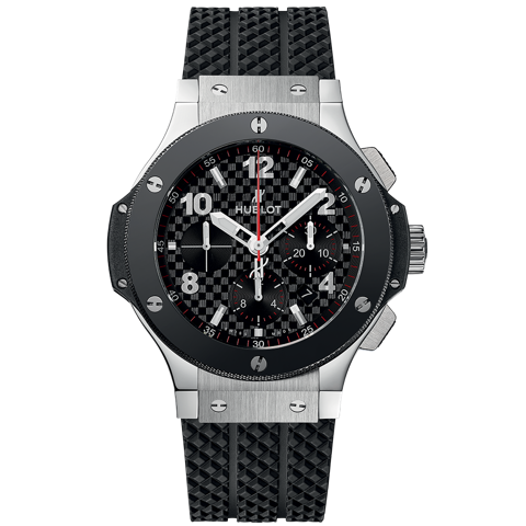 Hublot Big Bang Chronograph Steel Ceramic 44mm - 41mm