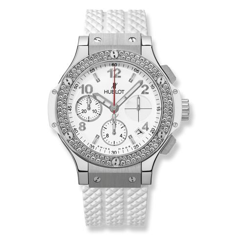 Hublot Big Bang Chronograph Steel Diamonds 41mm