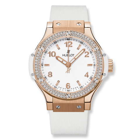 Hublot Big Bang Gold White Diamonds 38mm