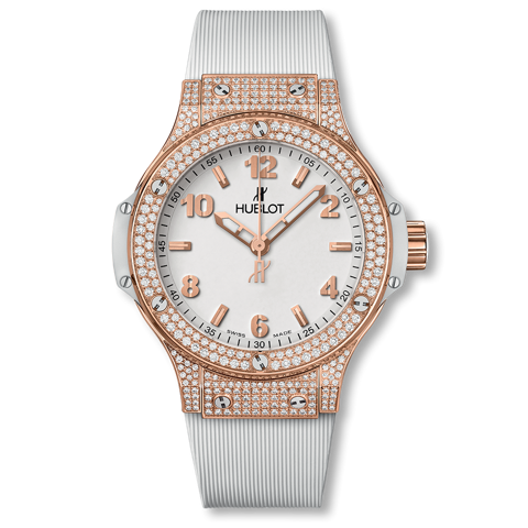 Hublot Big Bang Gold White Pavé 38mm