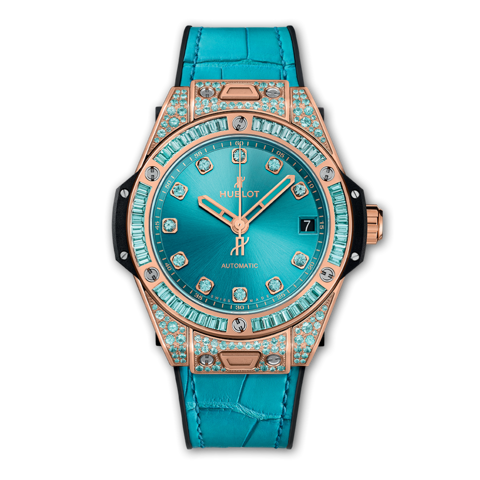 Hublot Big Bang  One Click King Gold Paraiba 39mm