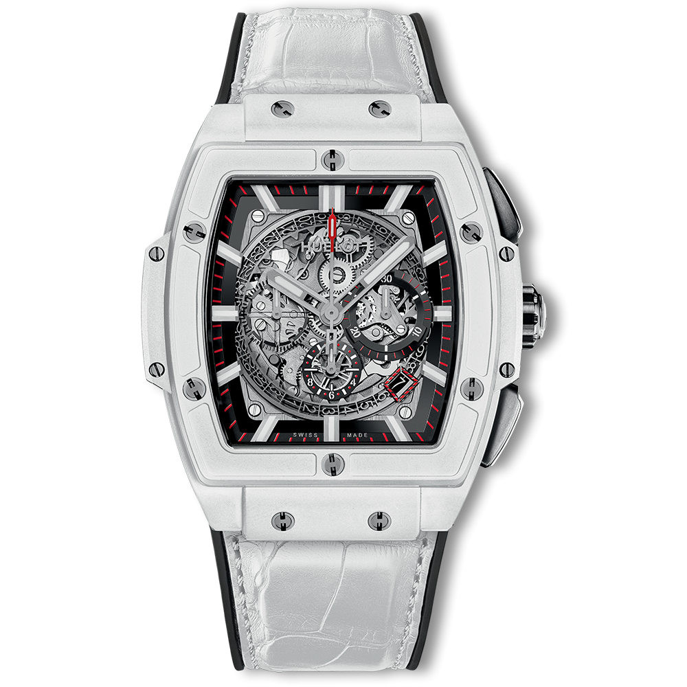 Hublot Spirit Of Big Bang Chronograph White Ceramic