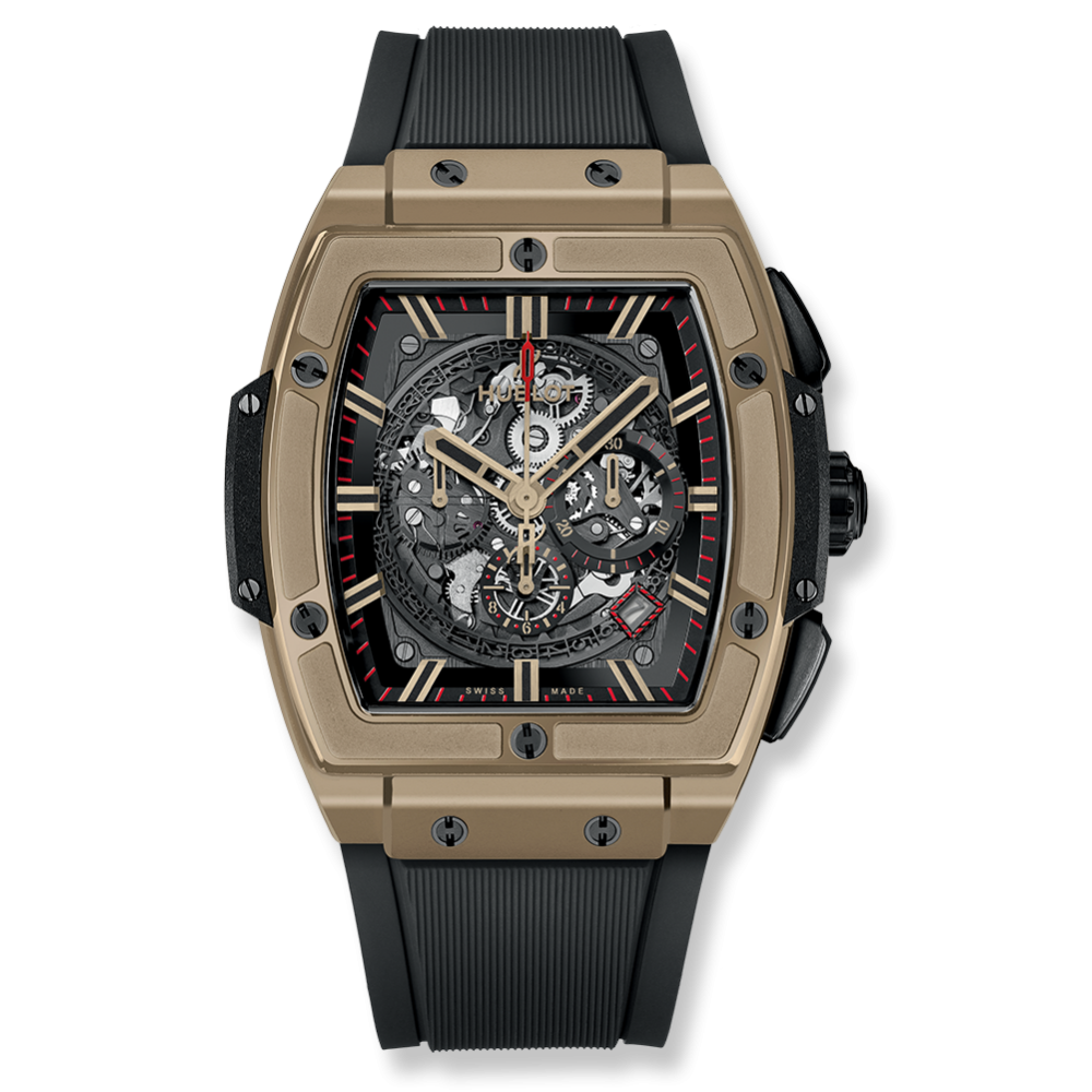 Hublot Spirit Of Big Bang Chronograph Full Magic Gold