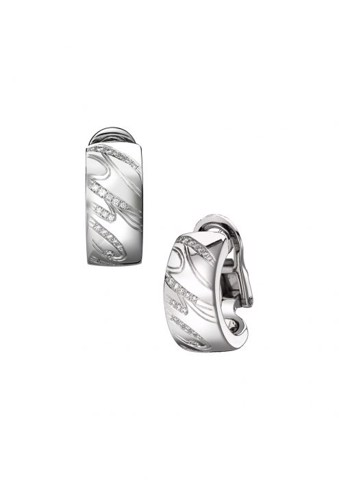 Chopard Chopardissimo Earrings White Gold and Diamond