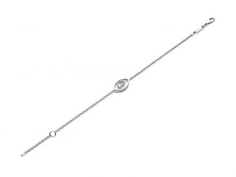 Chopard Good Luck Charms Bracelet White Gold Diamond
