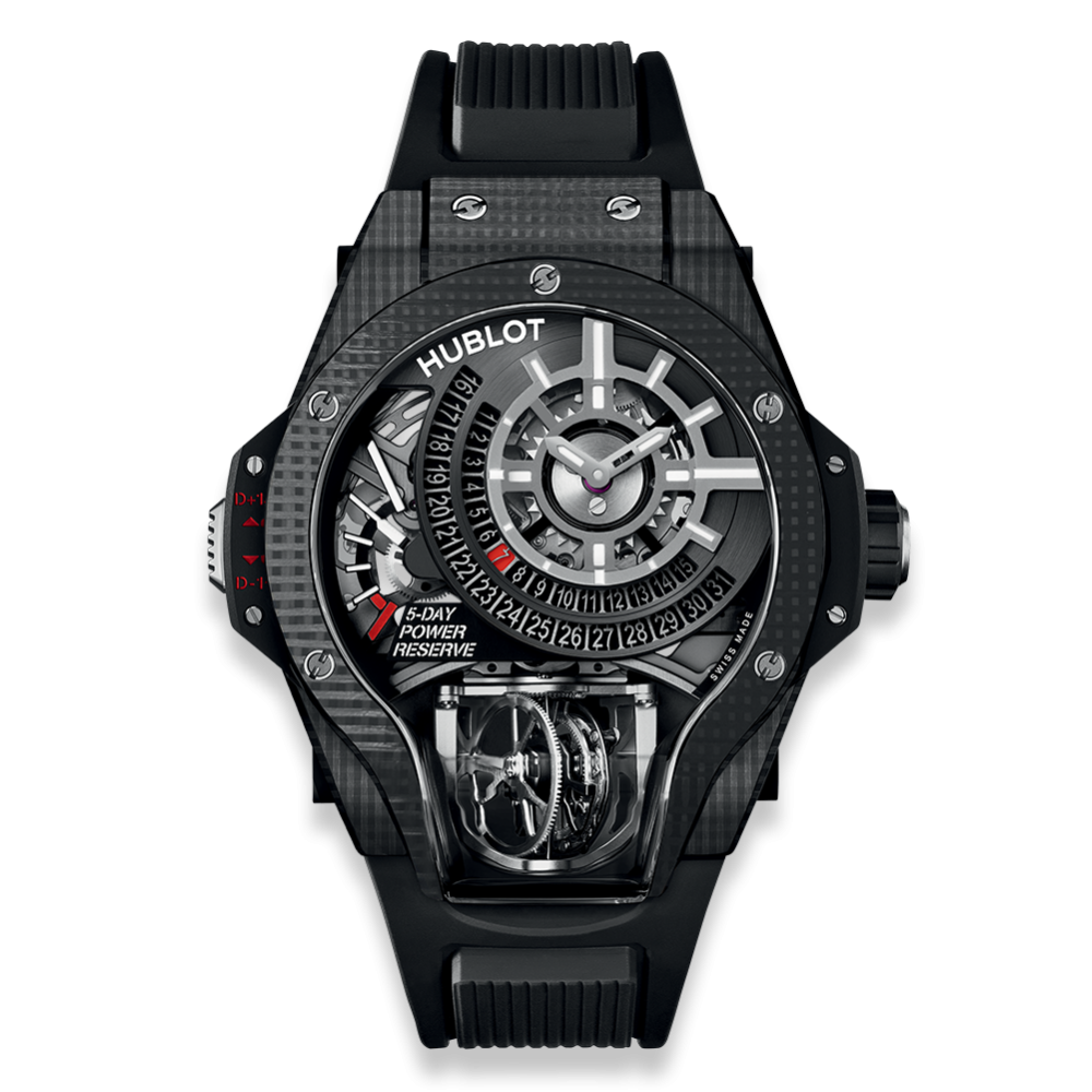 Hublot MP MP-09 Tourbillon Bi-Axis 3D Carbon