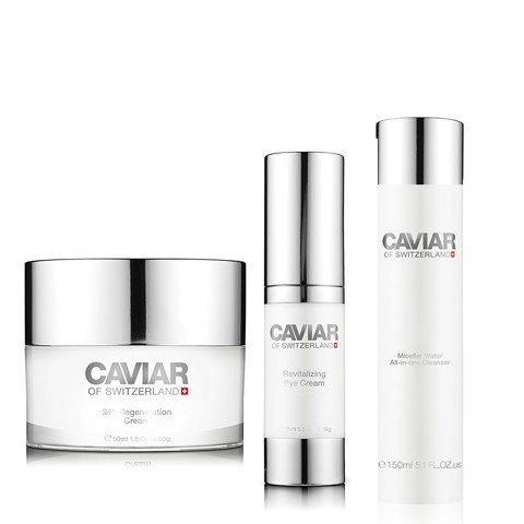Caviar Full Set Skin-care From Switzerland