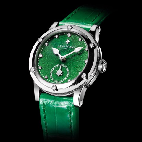 Đồng hồ nữ Louis Moinet Skydance Magic Green 36mm