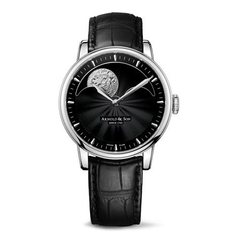 Arnold & Son Royal HM Perpetual Moon Steel Black Dial