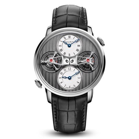Arnold & Son Instrument DTE Dual Time Double Tourbillon 43.5mm