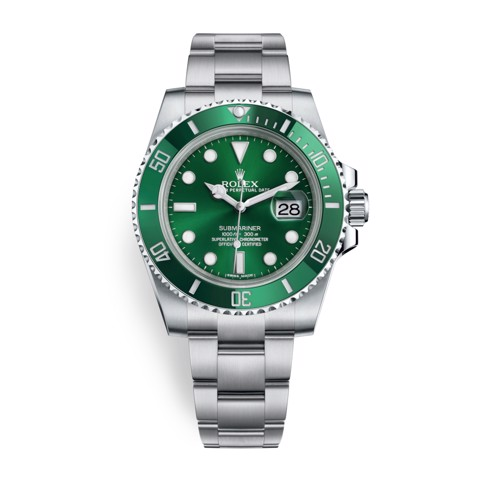 Rolex Submariner Date 40mm Stainless Steel Green 116610LV-0002