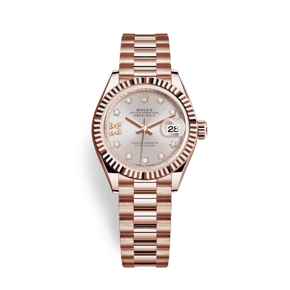 Rolex Lady Datejust 28mm Everose Gold 279175-0005