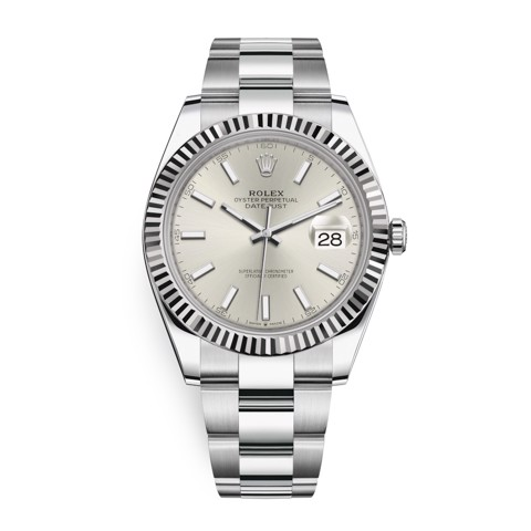 Rolex Datejust 41mm Stainless Steel Silver 126334-0003