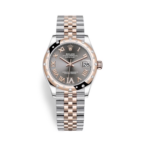 Rolex Datejust 31mm Stainless Steel and Rose Gold Rhodium 278341RBR-0030