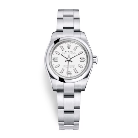 Rolex Oyster Perpetual 26mm White 176200-0011
