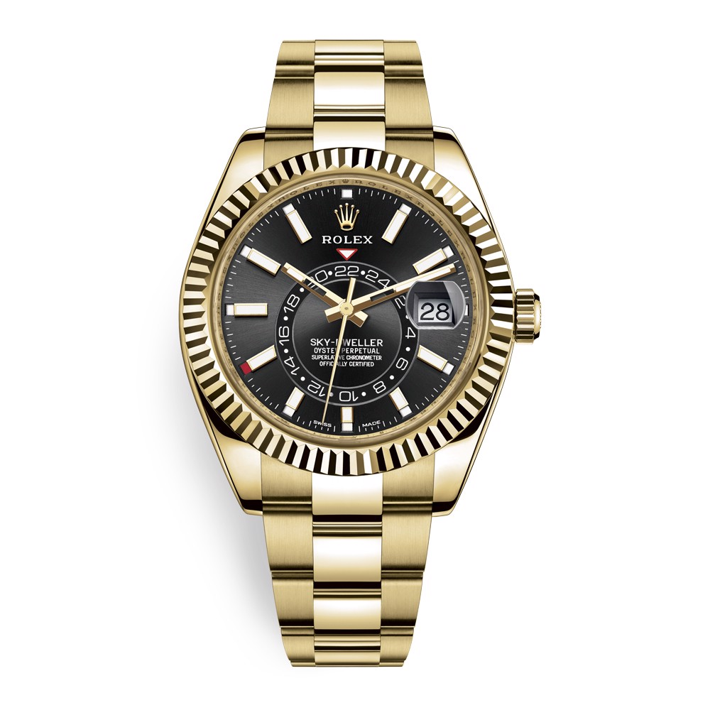 Rolex Sky Dweller 42mm Black Index 326938-0004