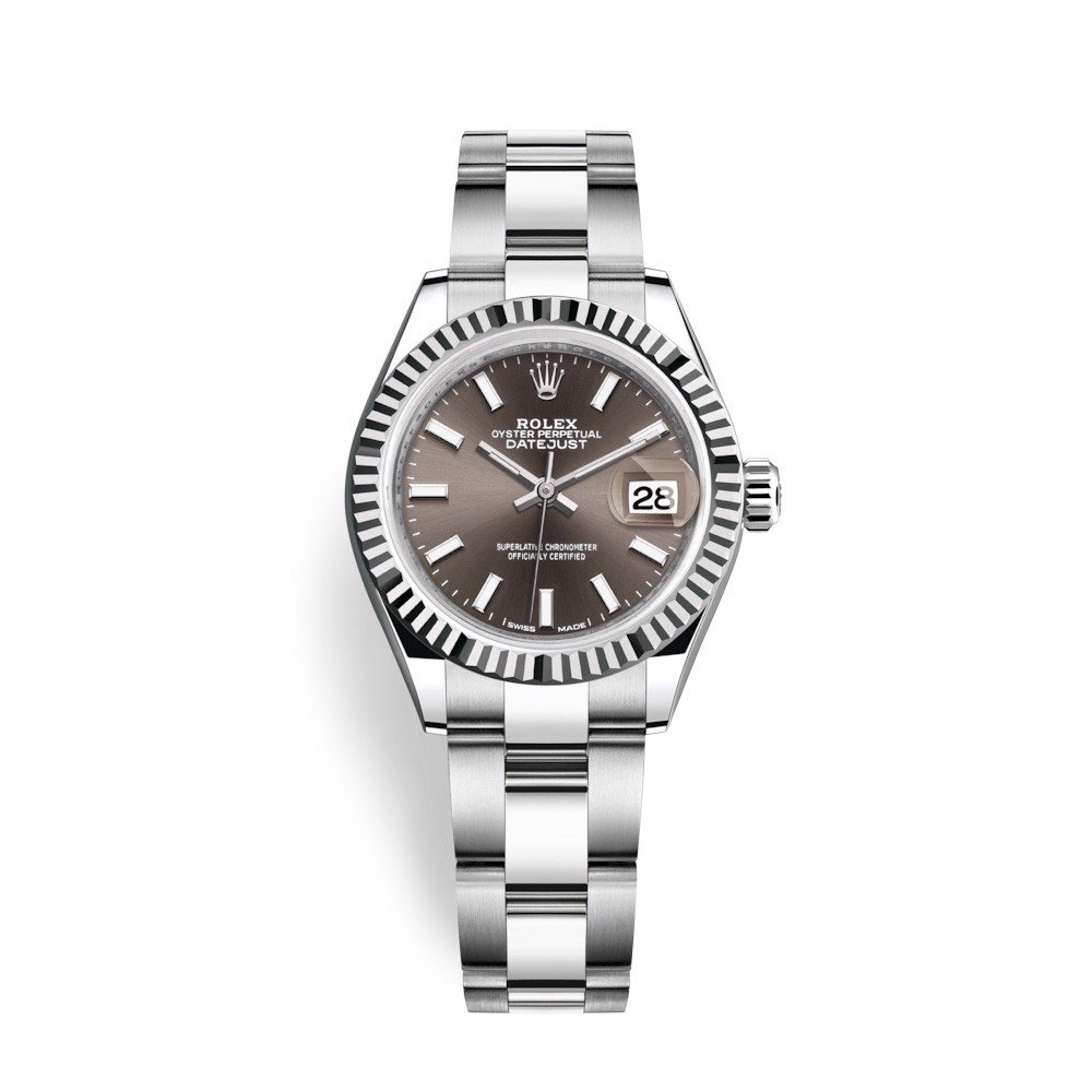 Rolex Lady Datejust 28mm Stainless Steel Grey 279174-0012