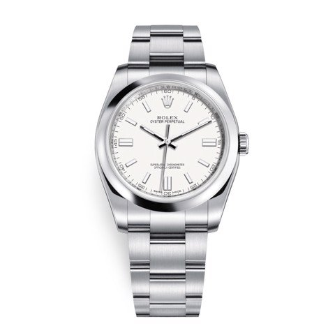 Rolex Oyster Perpetual 36mm White Oyster 116000-0012