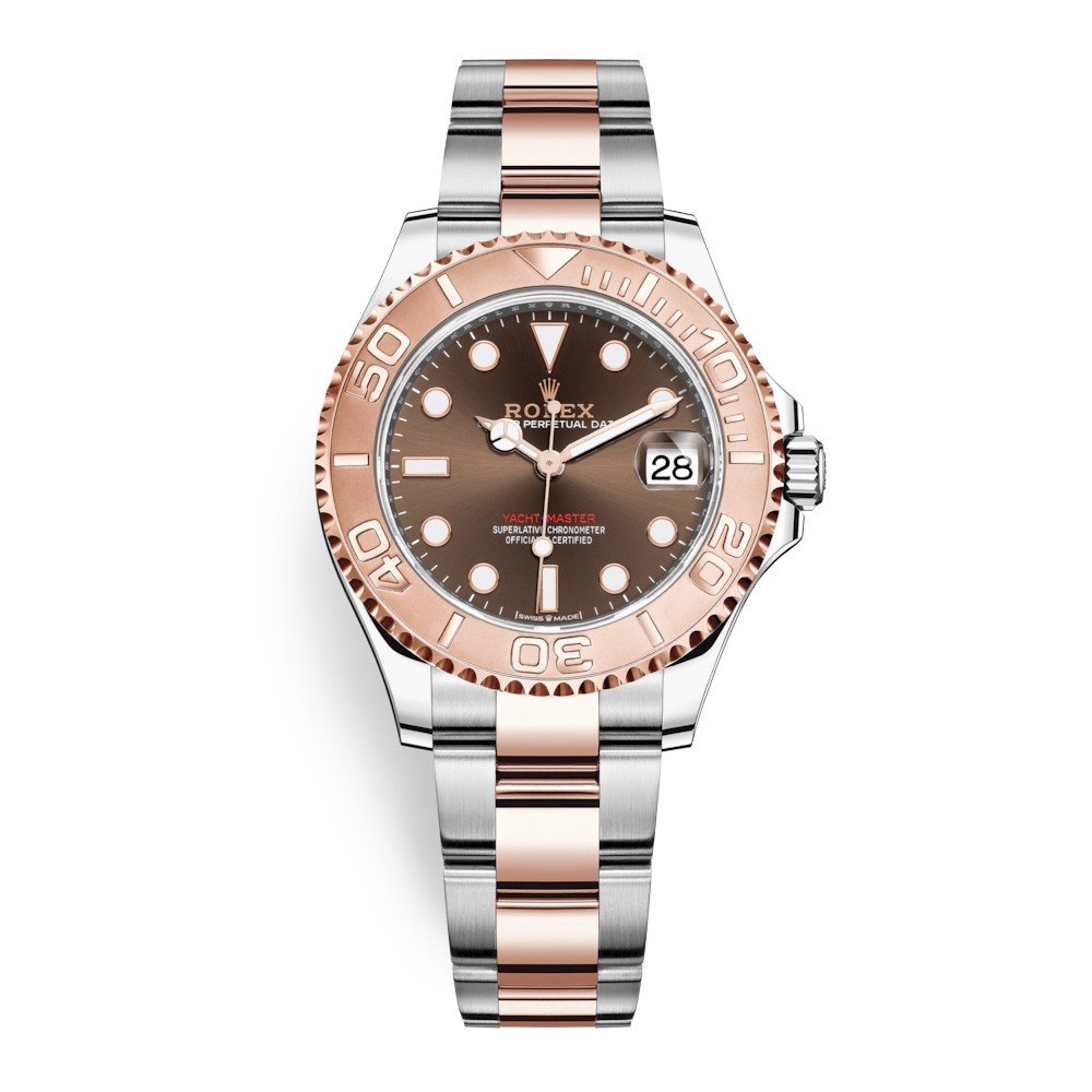 Rolex Yacht-Master 37mm Stainless Steel & Rose Gold Chocolate 268621-0003