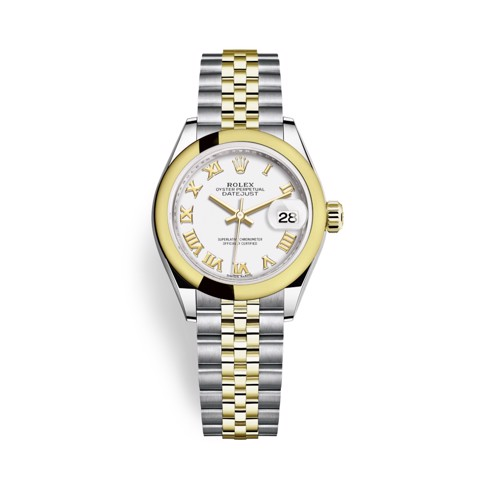 Rolex Lady Datejust 28mm Stainless Steel and Yellow Gold 279163-0023