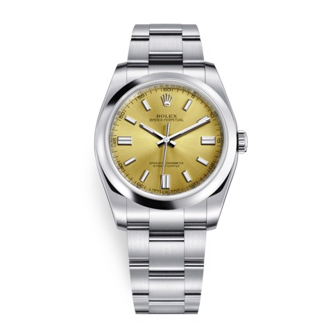 Rolex Oyster Perpetual 36mm White Grape Oyster 116000-0011