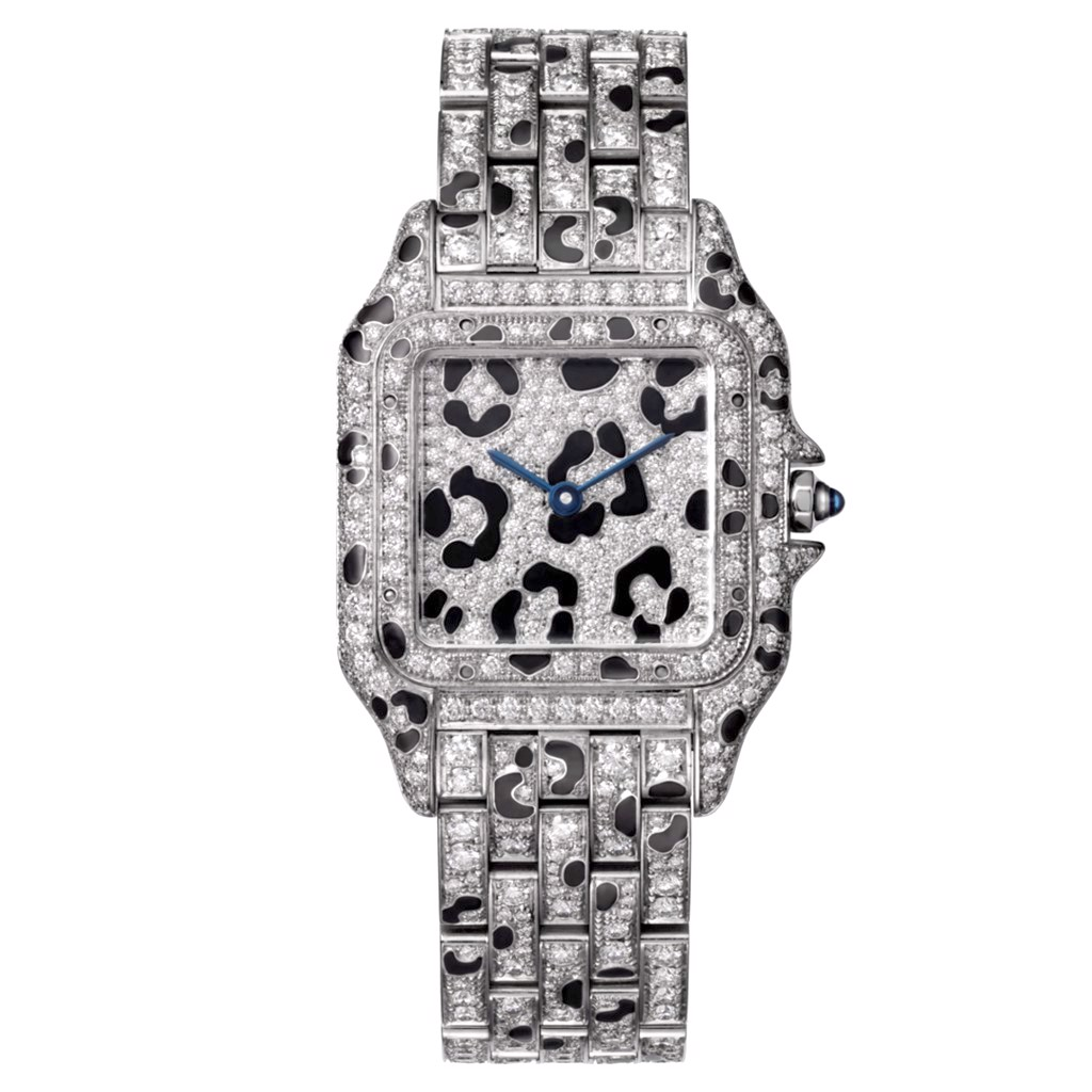 Cartier Panthère de Cartier Medium White Gold Diamonds Panther Spots