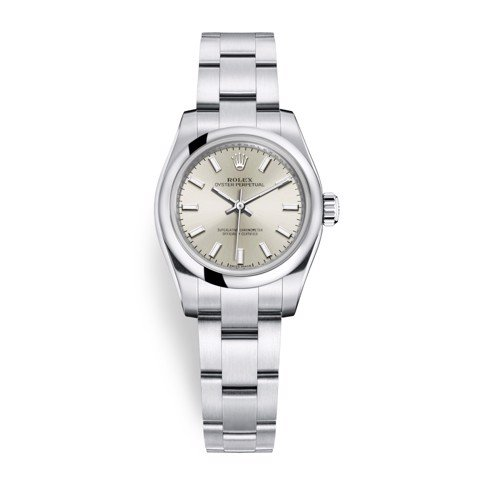 Rolex Oyster Perpetual 26mm Silver 176200-0015