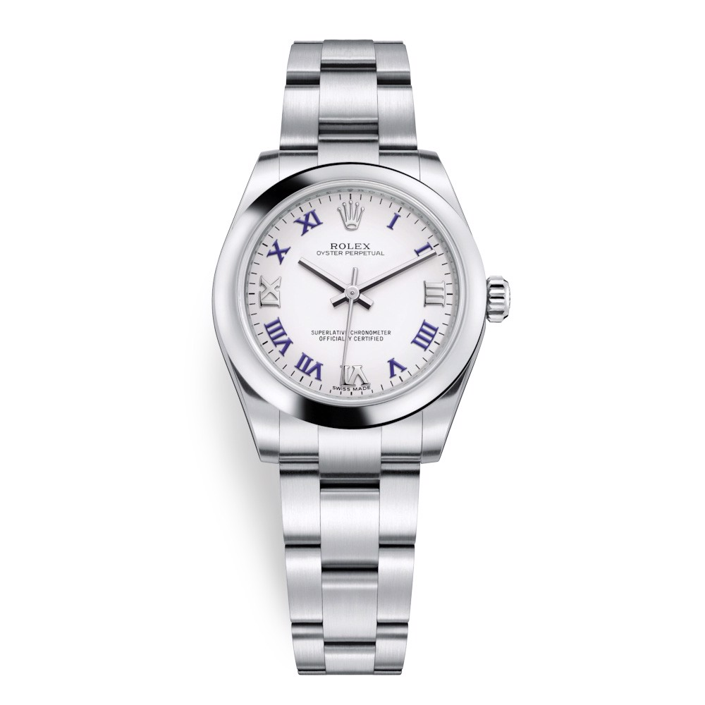 Rolex Oyster Perpetual 31mm White 177200-0016