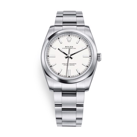 Rolex Oyster Perpetual 34mm White 114200-0024