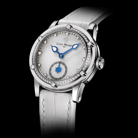 Đồng hồ nữ Louis Moinet Skydance Magic White Bezel set with Diamonds 36mm