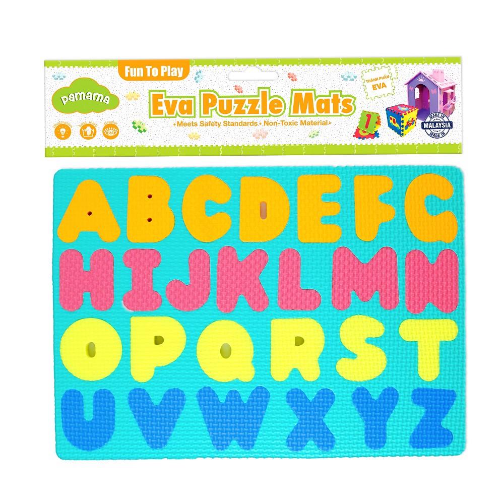 Đồ chơi trẻ em bằng xốp - Bảng ghép hình chữ và số 2 tấm P0308 – R STAR