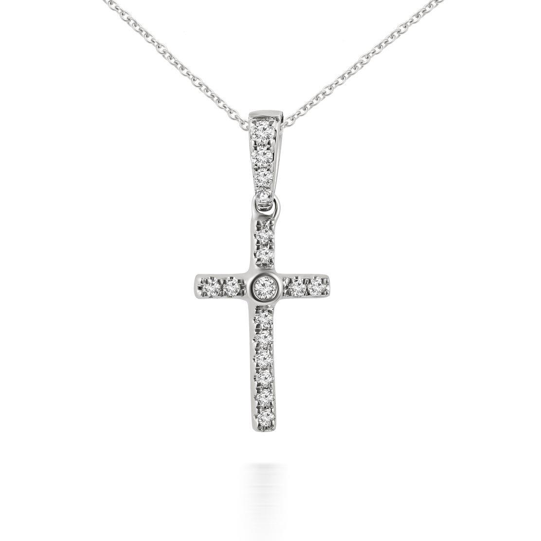 Mặt dây kim cương Faith