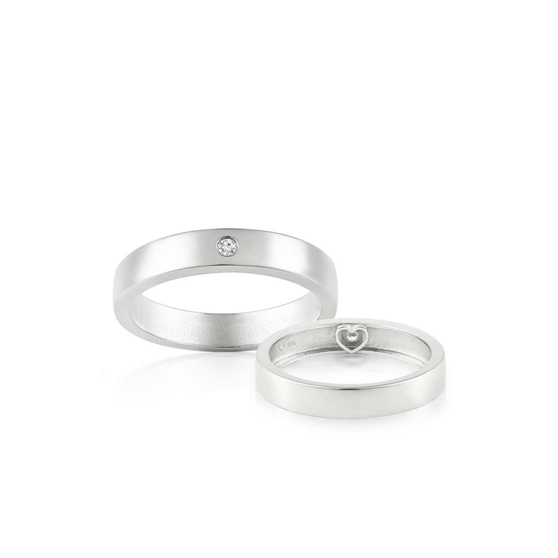 Cặp nhẫn cưới Amor