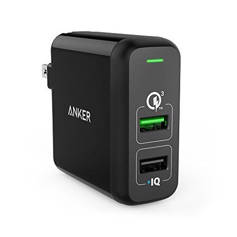 Củ Sạc PowerPort Speed 2 with Quick Charge 3.0 US Black