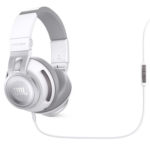 Tai nghe JBL Synchros S500 Over-Ear -Trắng