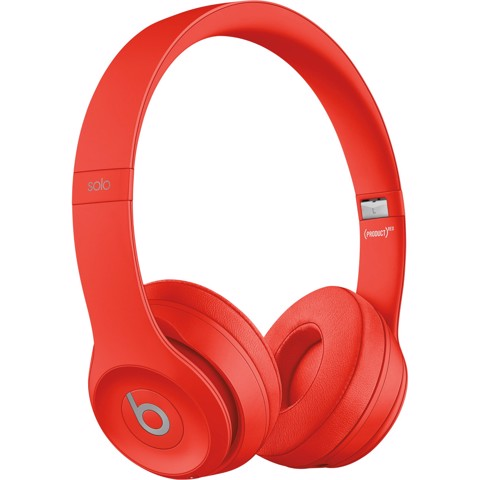 Beats solo3 wireless on-ear MP162 (Red)
