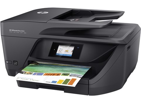 HP OfficeJet Pro 6960 All-in-One Printer J7K33A