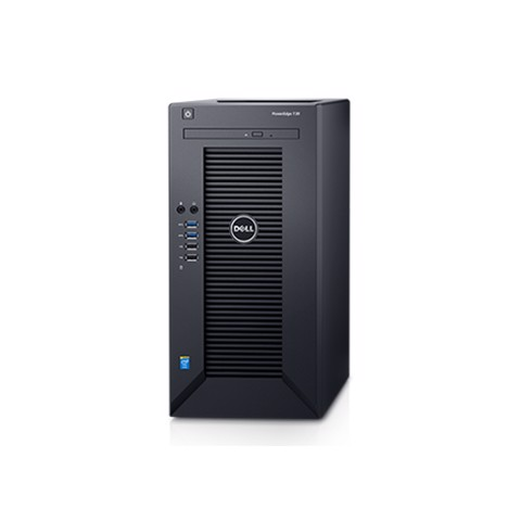 Dell PowerEdge T30 - Chassis with up to 4, 3.5