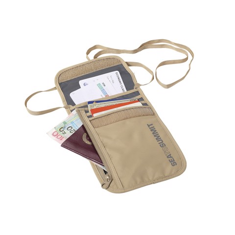 Bao đựng passport Seatosummit Neck Wallet 5 ATLNW5 Caramel