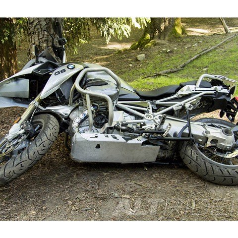 ALTRIDER SKID PLATE BMW R 1200 GS LC - BLACK (Without Mounting)