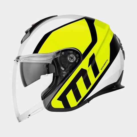 SCHUBERTH NÓN 3/4 M1 FLUX YELLOW-L