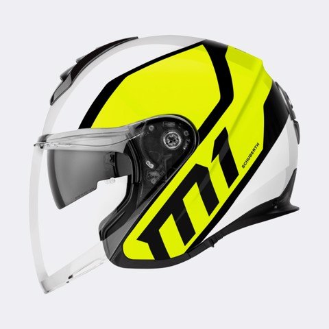 SCHUBERTH NÓN 3/4 M1 FLUX YELLOW-XL