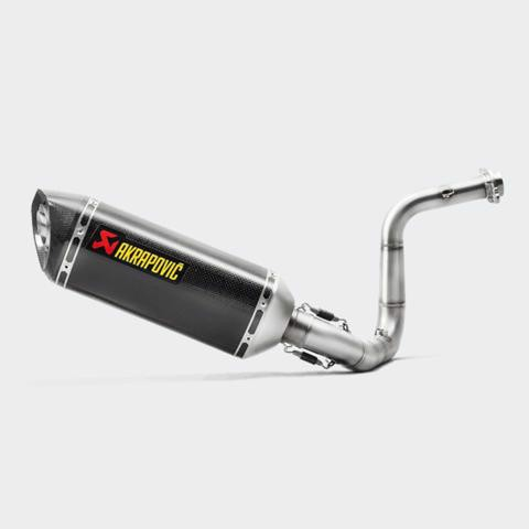 AKRAPOVIC BỘ PÔ RACING BMW G310R / G310GS (17+)